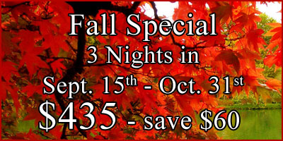 Fall Special - Save Money!