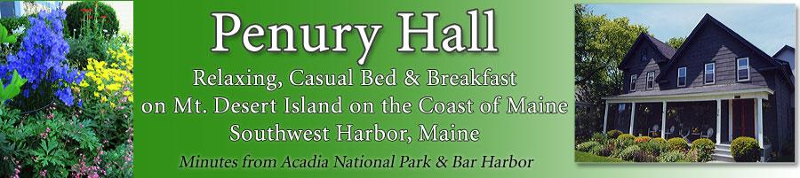 Island Bed and Breakfast near Bar Harbor Maine